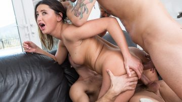 Hope Howell anal fucked and double penetrated