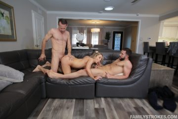 Kate Kennedy fucked by two cocks
