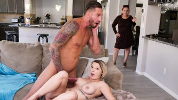 Stepdaughter Bang After Breakfast Cara May